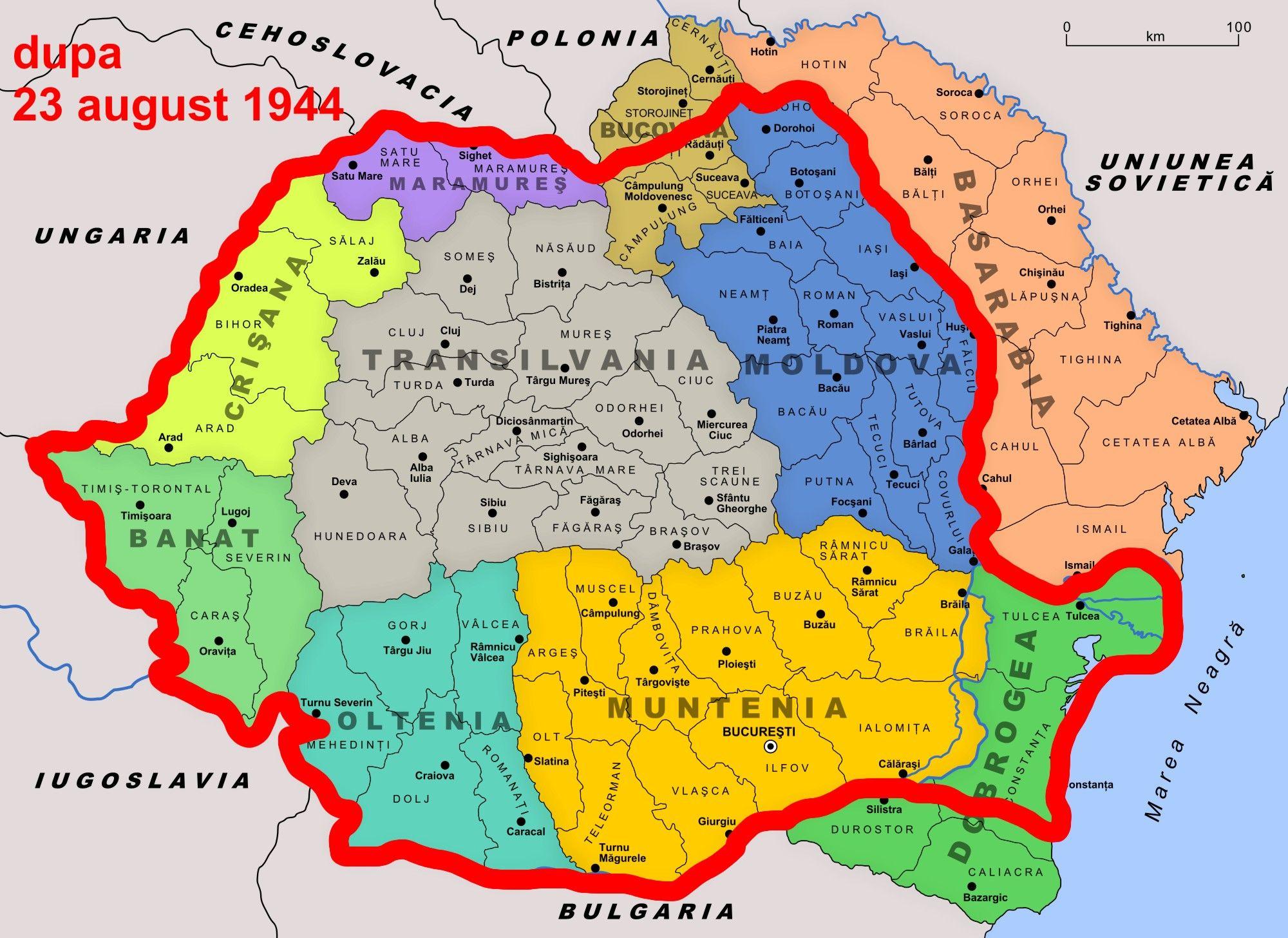 Basarabia Si Bucovina Harta History Wallpaper Romania History