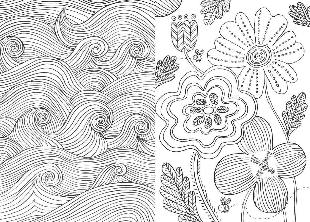 130 best adult coloring pages images on Pinterest Coloring books