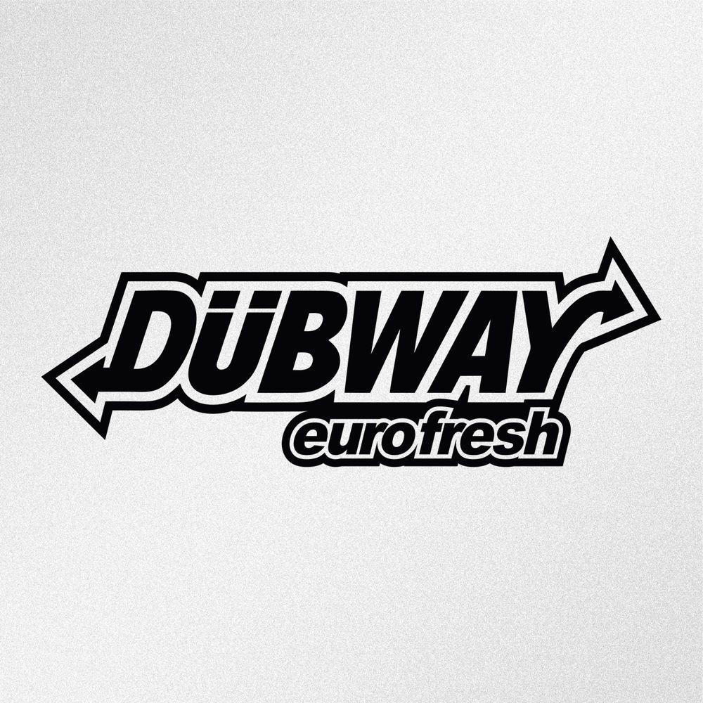 Dubway Eurofresh Jdm Vw Euro Car Window Bumper Vinyl Decal Sticker