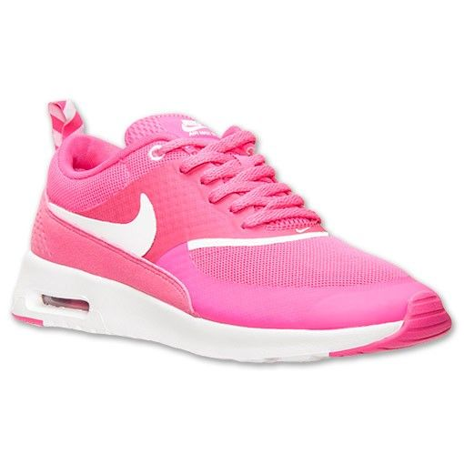 hot sale online 1a654 a9b23 Nike Air Max Thea Feuille Rose Blanc Femmes Chaussures De Running,Quality  Sneakers are worthy for you own it .Dont miss it .