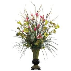 Magnolia Calla Lily And Berry Arrangement Container Gardening