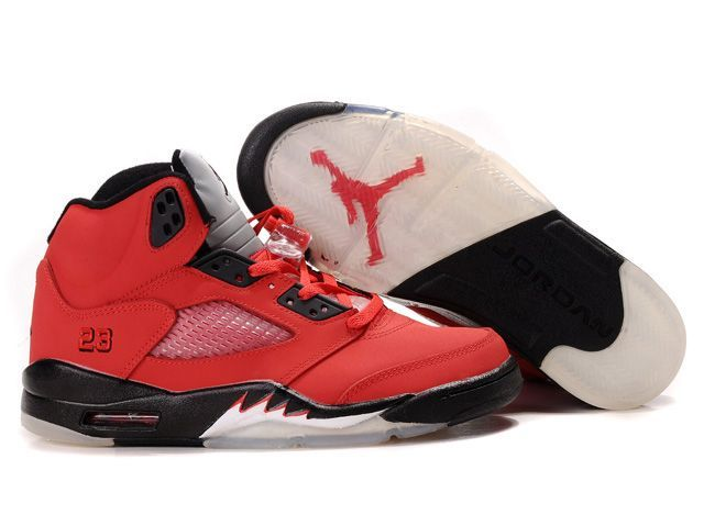sports shoes f7f5e 47df4 ... discount air jordan 5 v retro raging bull pack red black ead17 529fa