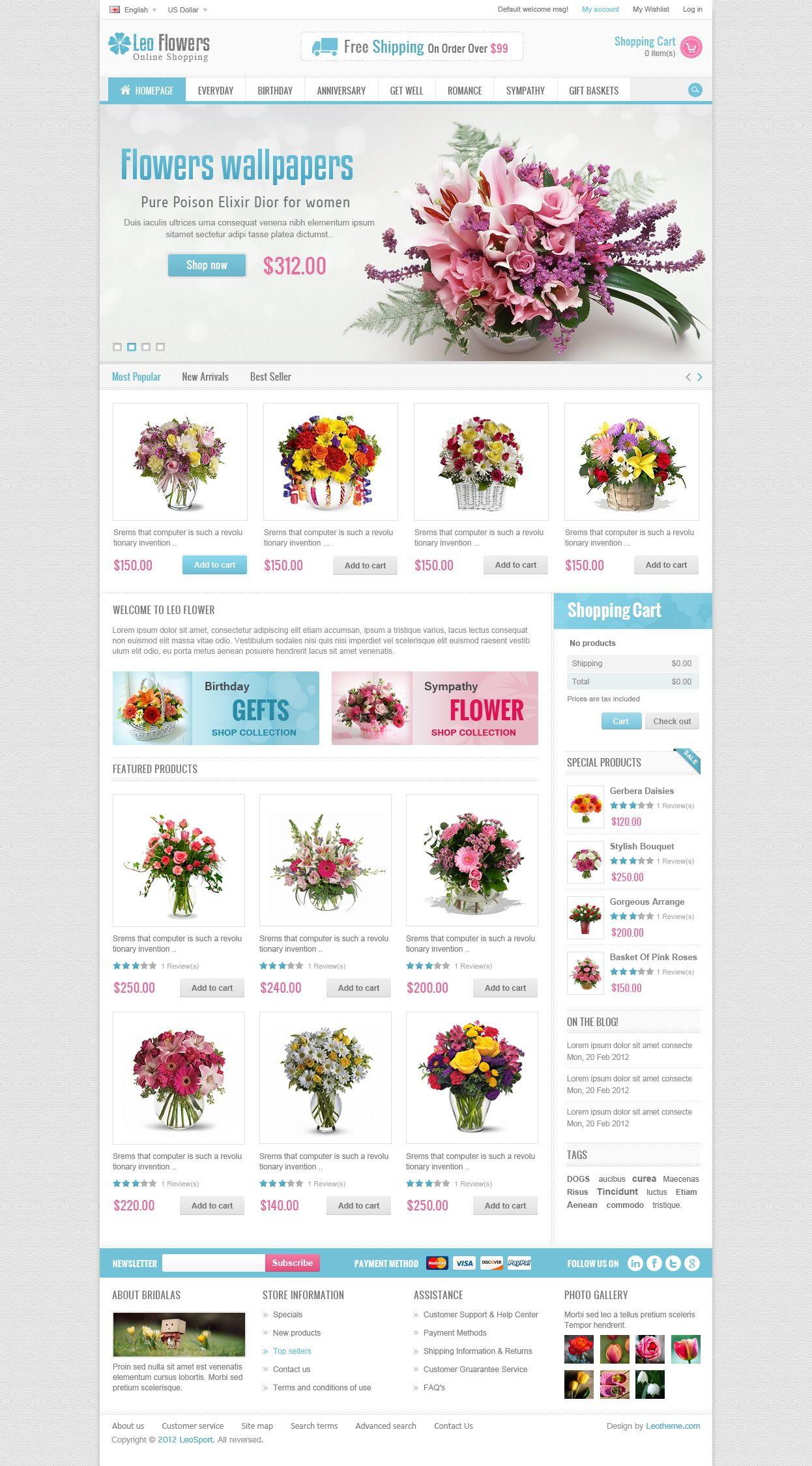 Leo Flowers Prestashop Theme - Download http://themeforest.net/item/leo-flowers-prestashop-theme/5104664?ref=pxcr