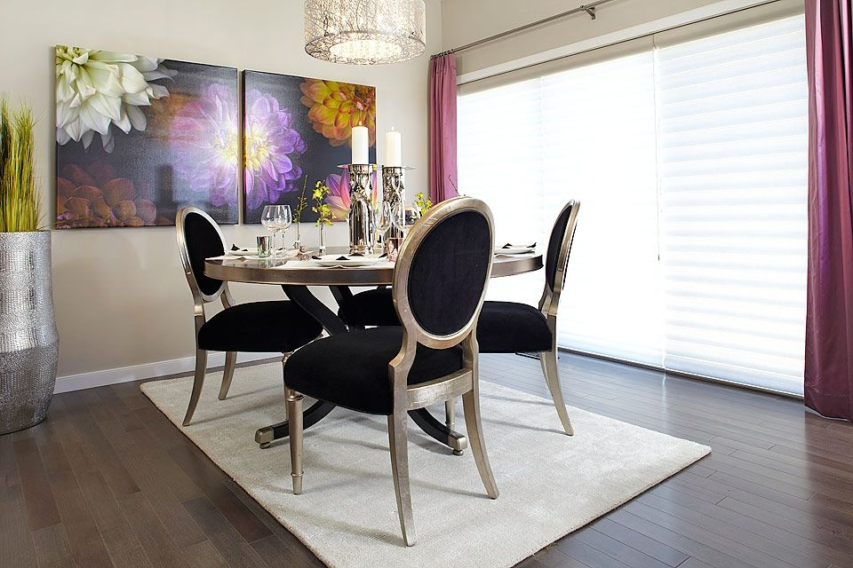 Funky Dining Chairs And Bold Artwork Create The Perfect Dinner Adorable Funky Dining Room Inspiration