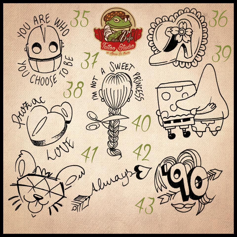 Valentine S Day Flash Tattoo Collection 5 Mrbufo Walkin Flash