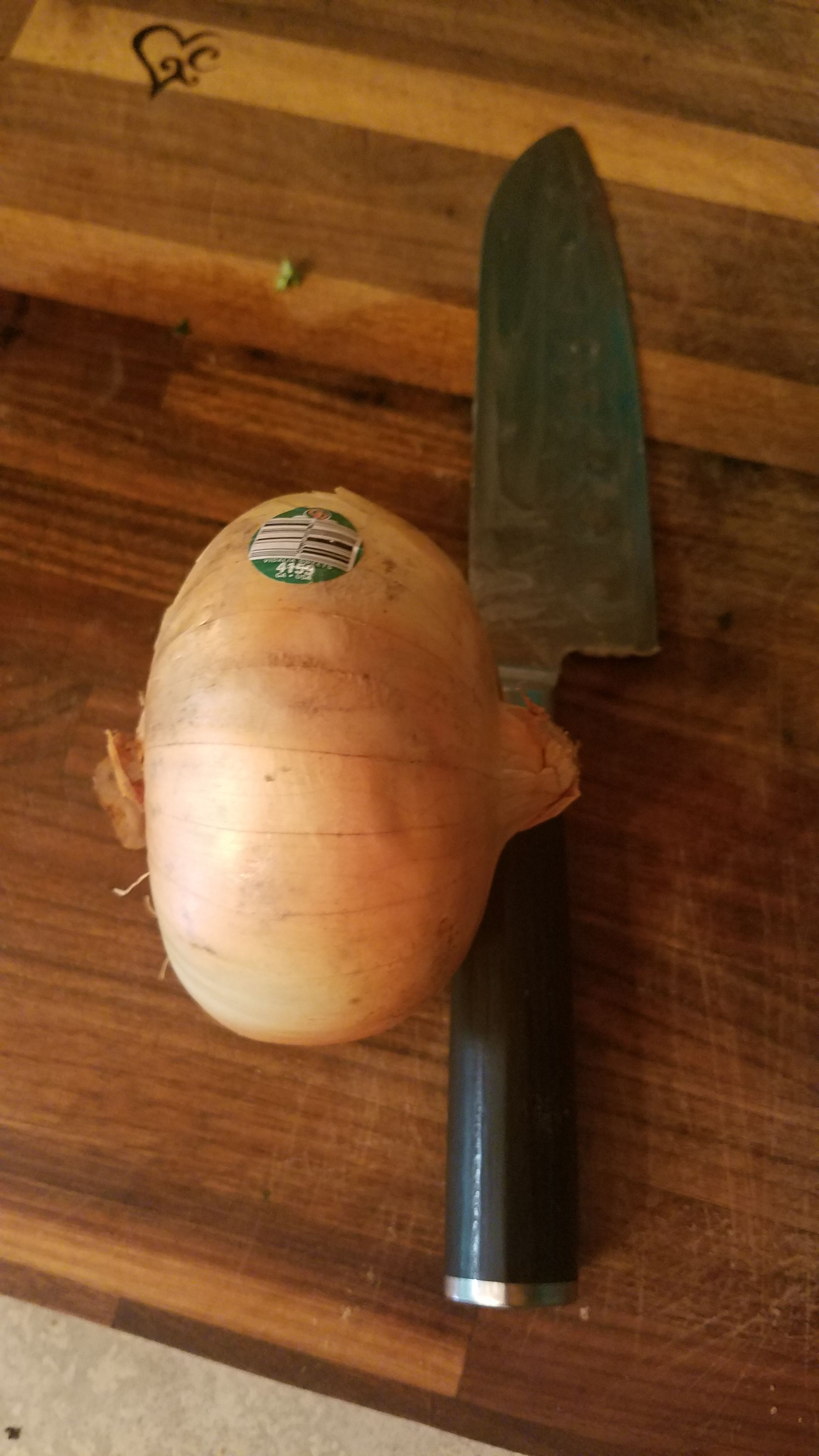 How To Cut An Onion Steps And Pictures Kitchen Basics