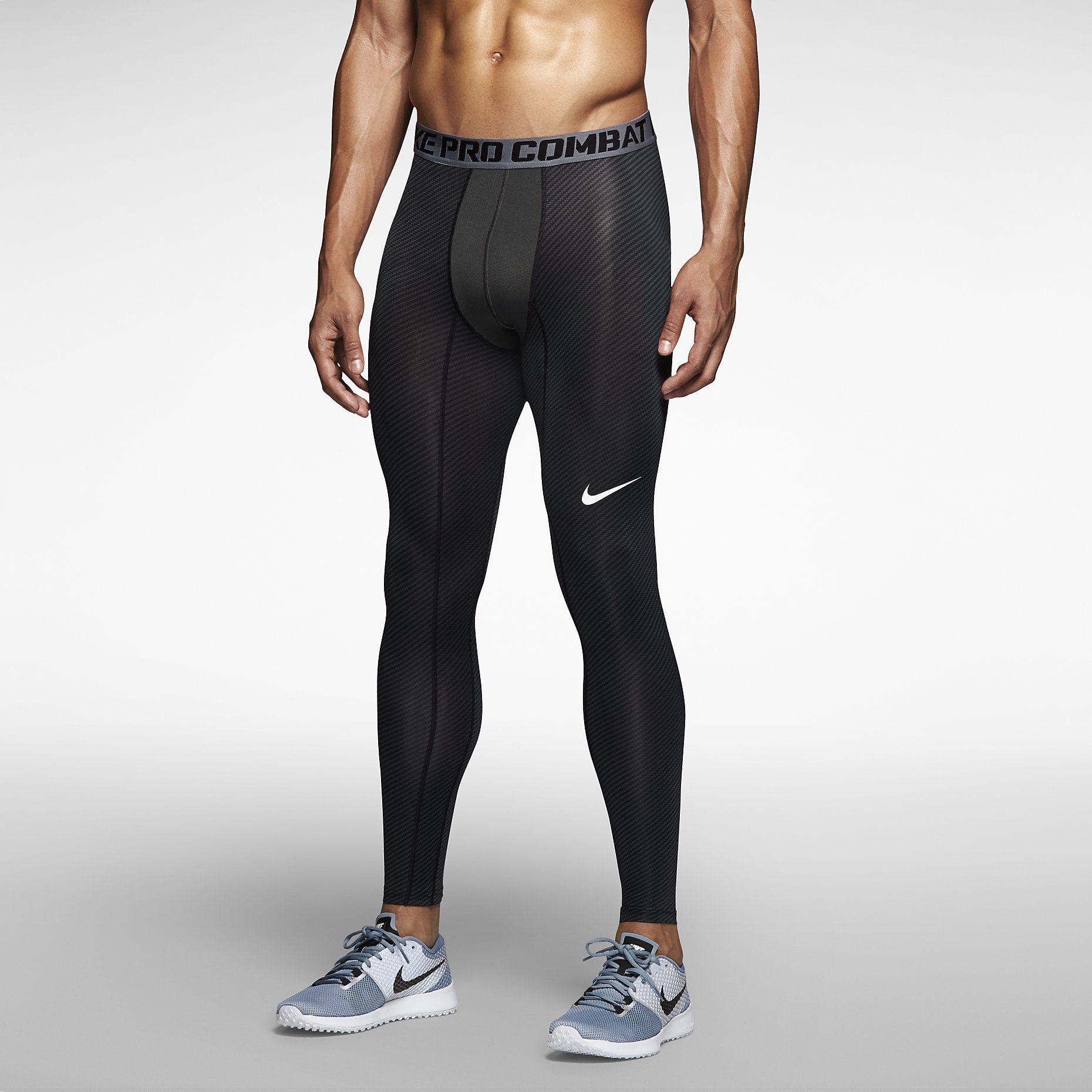 c91007ea32200b Nike Pro Combat Core Compression Carbon Fiber Men's Tights. Nike Store