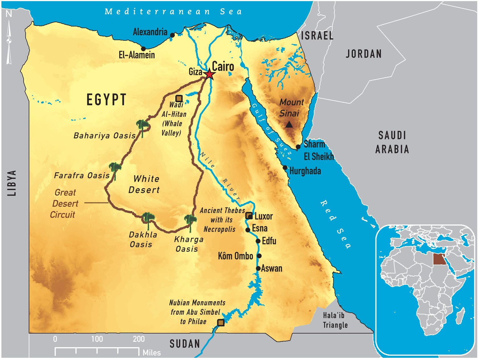 The Great Desert Circuit | Egypt | Hurghada egypt, Nile river