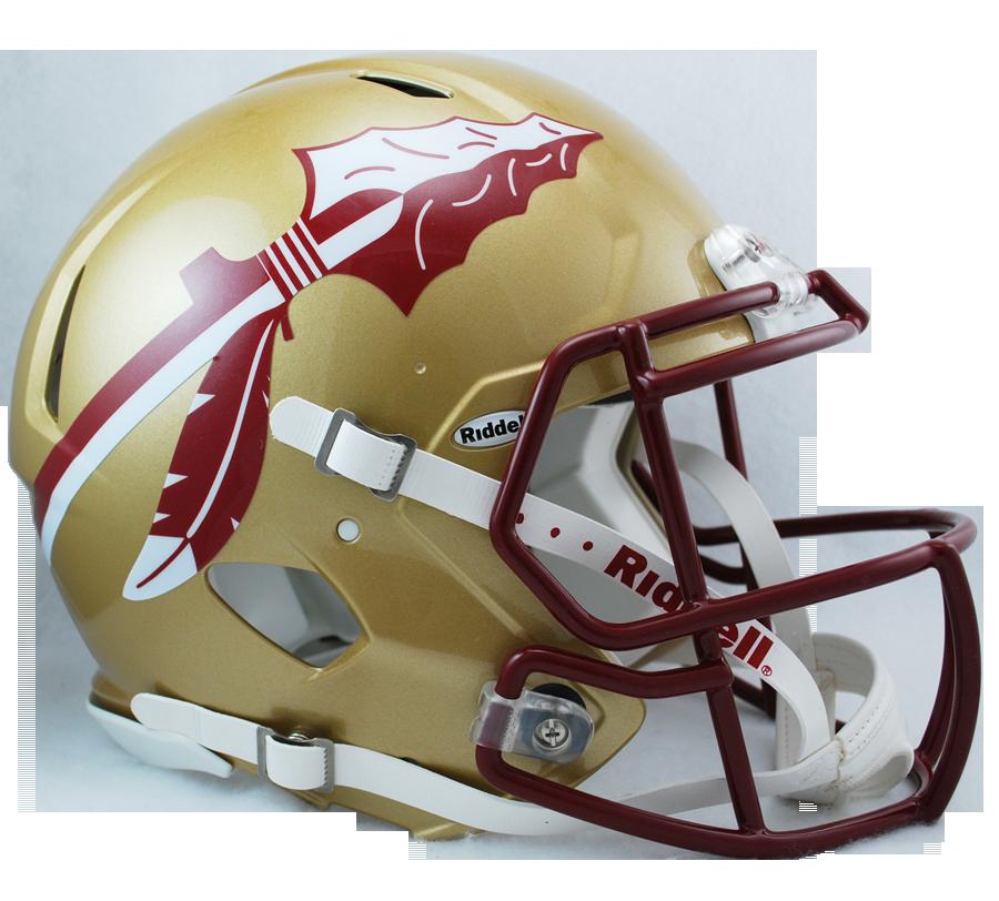 Florida State Seminoles Officially Licensed Revolution Speed Authentic Football Helmet