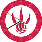 For Sale - Toronto Raptors Alternate Wall Clock - See More At http://sprtz.us/RaptorsEBay