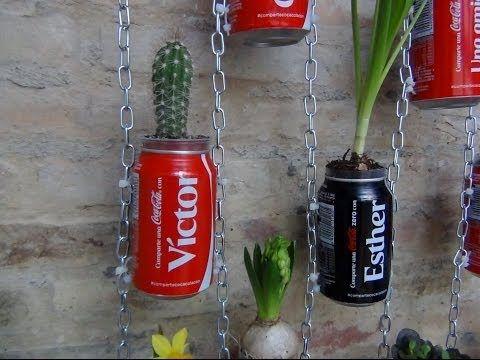 30 ideas de reciclaje para crear un precioso jard n - Ideas para hacer un jardin ...