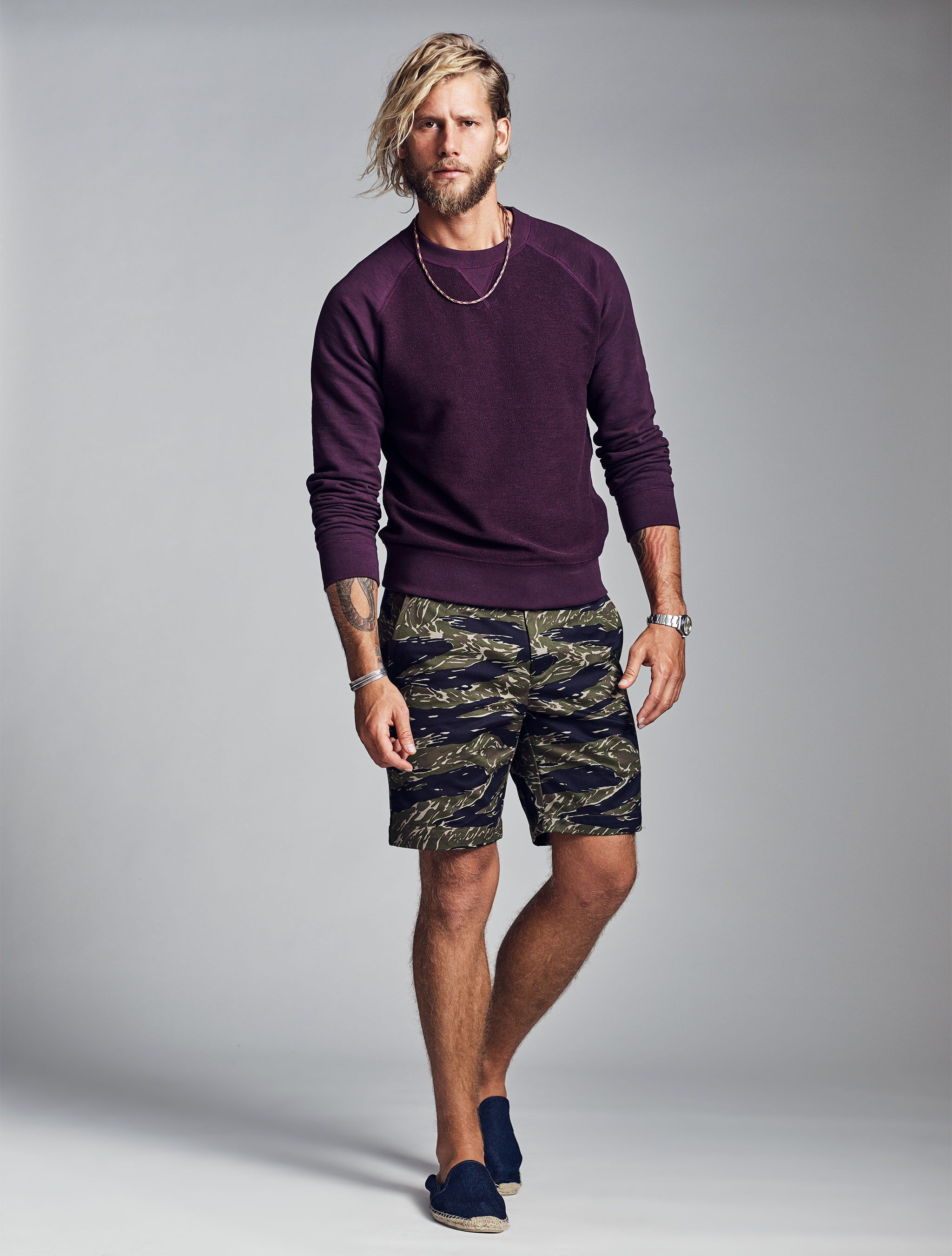 137a8488b The tiger camo pattern in this refined silhouette will have you running  through the jungle with ease. This elevated short features an 8