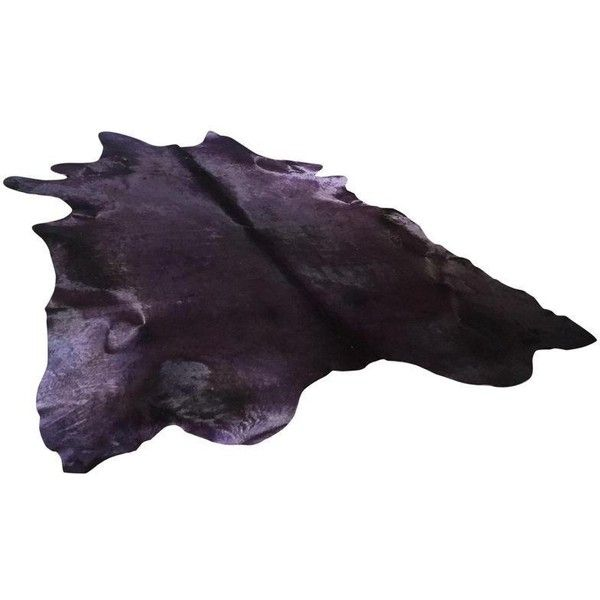 purple hair on hide rug 7u0027 x 8u0027 525 liked