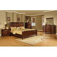 Gavin Bedroom Storage Bed Set King 6 Pc Sam S Club With
