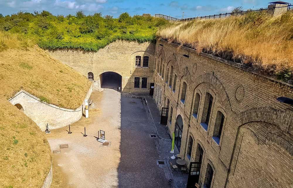 Fort Des Dunes Northern France Dunkirk France France Dune