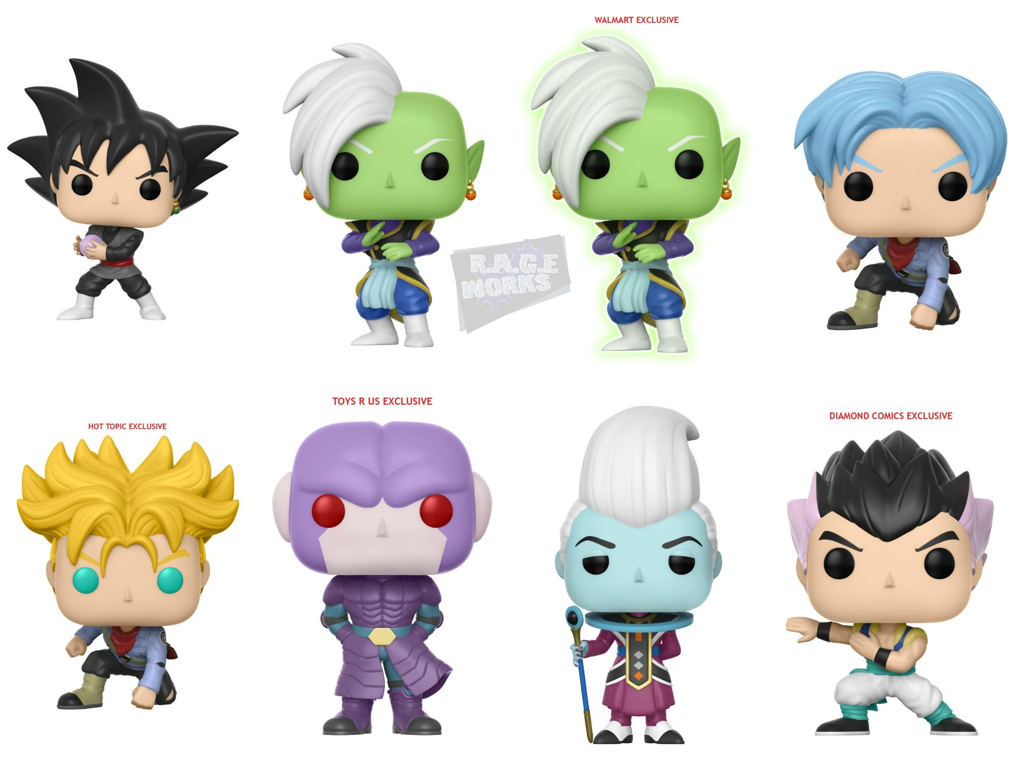 Funko Announces A New Wave Of Pop Figures From Dragon