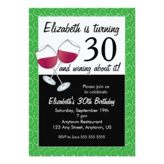 Cool FREE Template Free 30th Birthday Invitation Templates