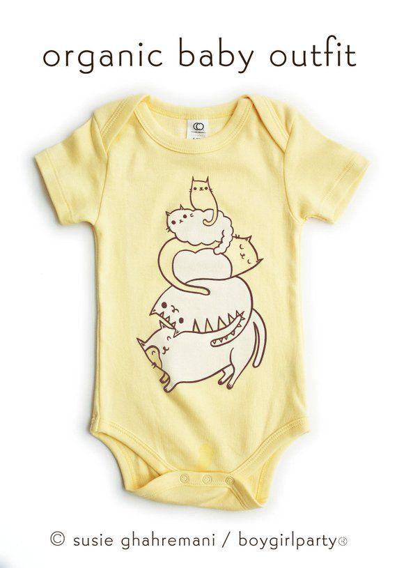 4b0f85fff4b1 Cat Lover Baby Gift   Funny Baby Clothes