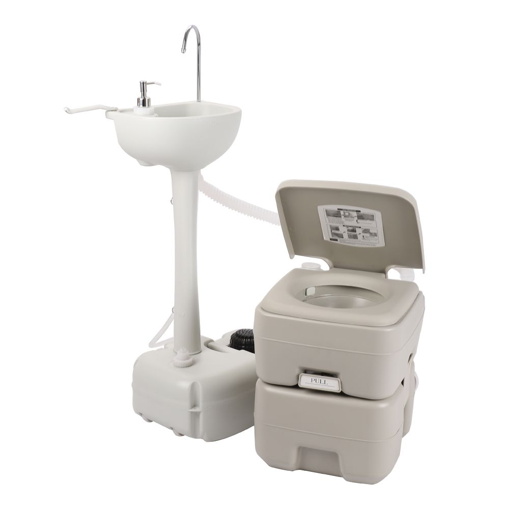 Ubesgoo Portable Hand Wash Sink Basin Stand With Fauce 20l 5