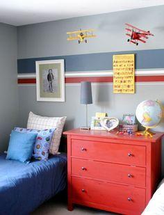 Kinderzimmer für Jungs farbige Einrichtungsideen