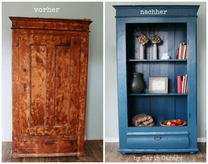 Landhausschrank Saris Garage Diy 2 Diy Mobel Streichen Mobel Aus Paletten Diy Holz