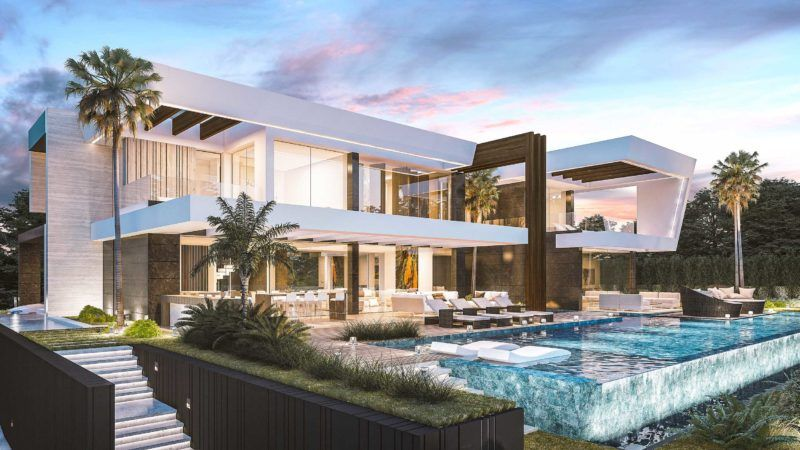 Modern Villas Luxury Homes In Marbella Madrid Portfolio Luxury Homes Exterior Luxury Houses Mansions Mansions Luxury