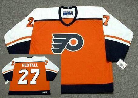 dbc0be5f6 复件 RON HEXTALL Philadelphia Flyers 1987 CCM Throwback Away NHL Hockey Jersey  1 副本
