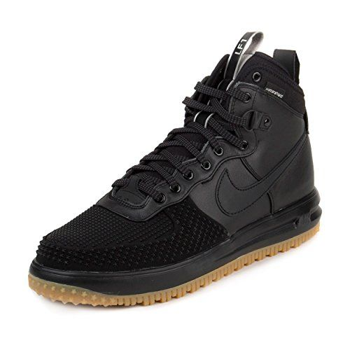 Nike Mens Lunar Force 1 Duckboot BlackMetallic SilverAnthracite 805899003  Size 14 >>> You can find out more details at the link of the image. This …