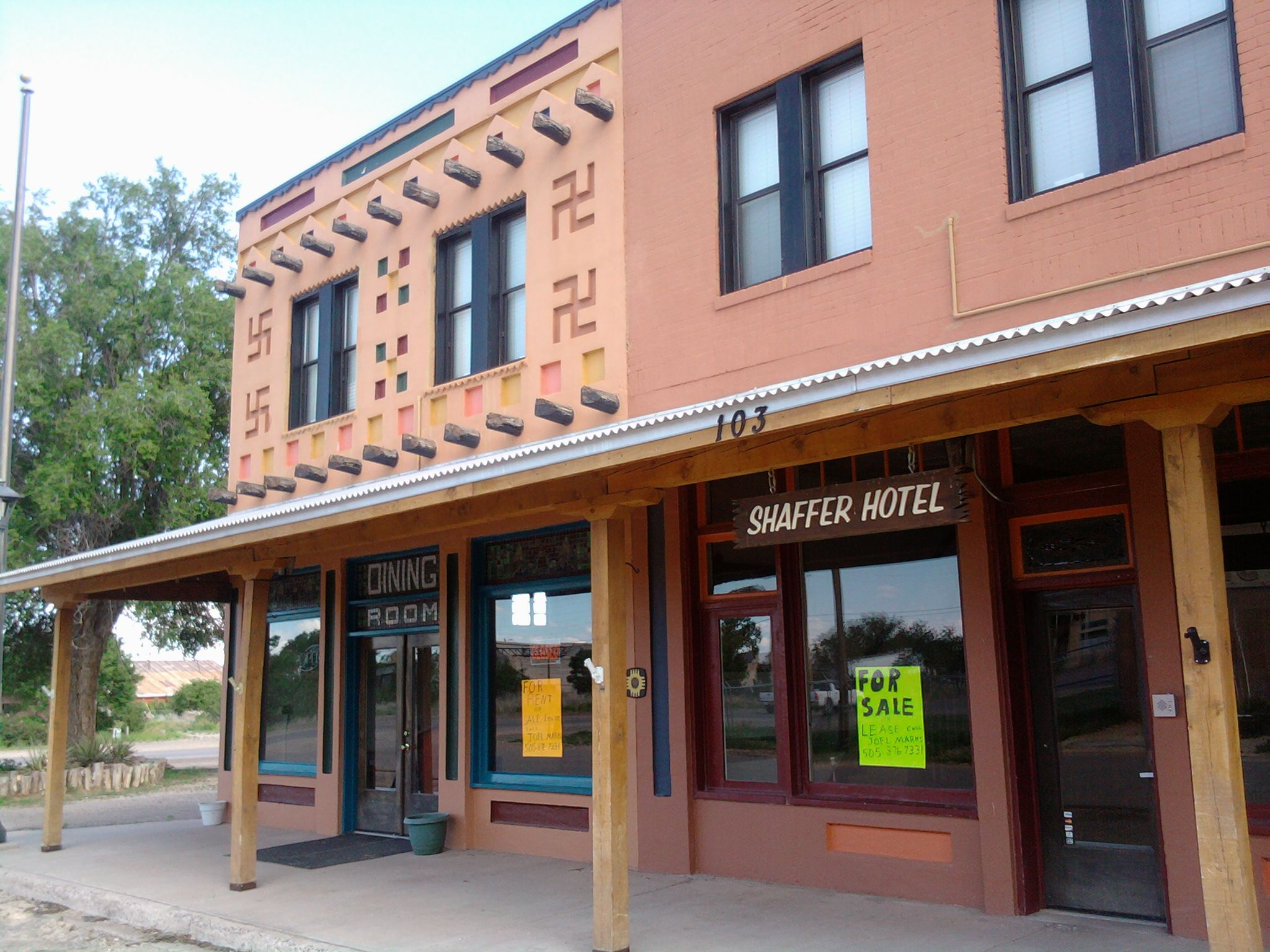 Haunted Hotel In Mountainair Nm Haunted New Mexico In 2019