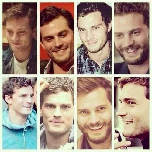 Many faces of Christian Grey