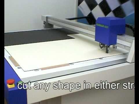 ▷ GUNNAR 4001-XL Cutting Museum- and Foam Board - YouTube