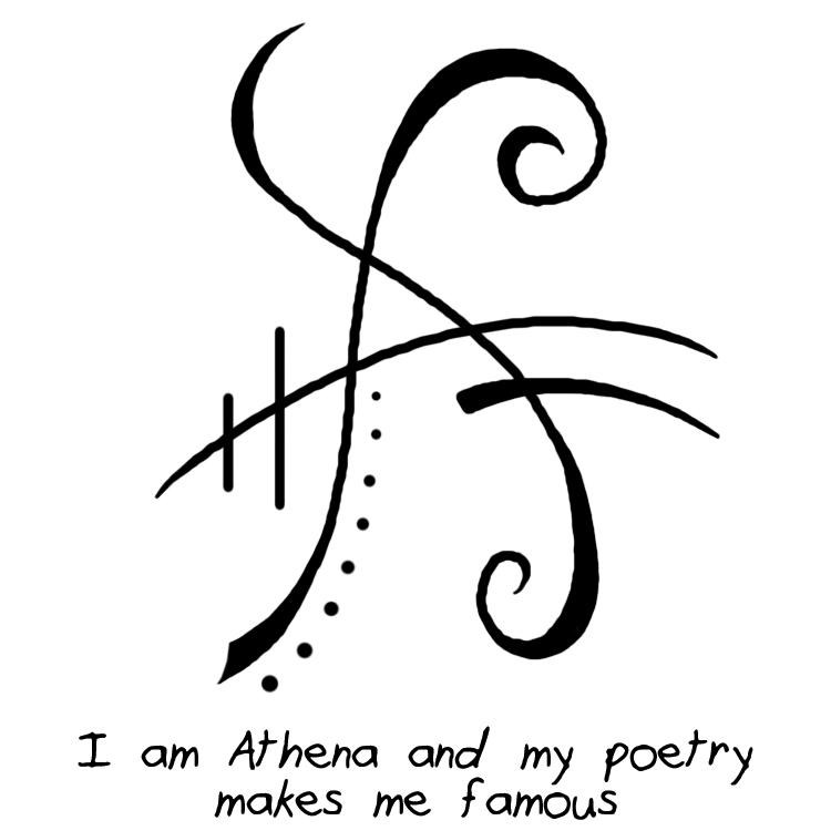 "Sigil Athenaeum - ""I am Athena and my poetry makes me famous"" sigil ..."