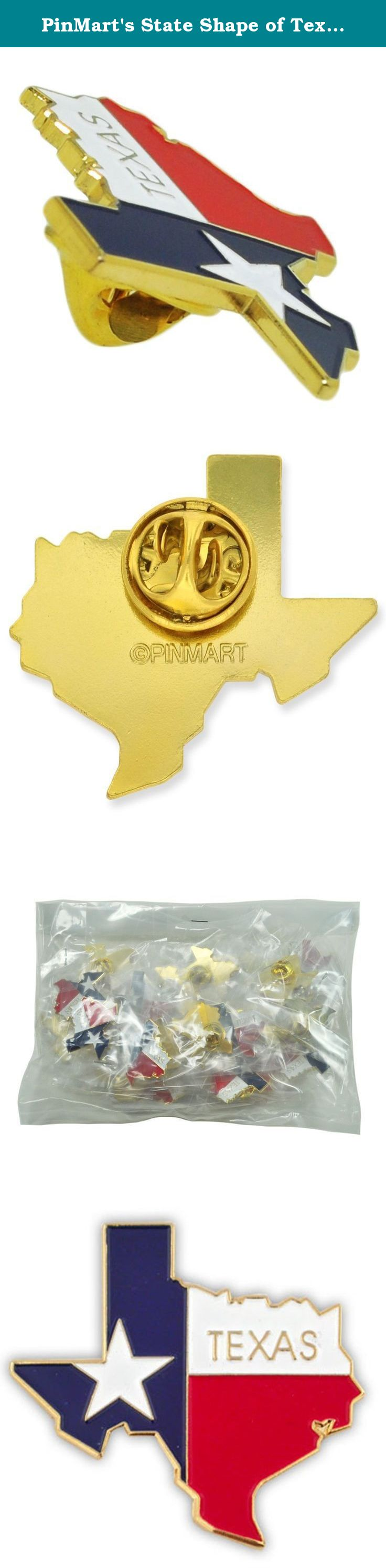 PinMartu0027s State Shape Of Texas And Texas Flag Lapel Pin. This Beautifully  Designed Lapel Pin