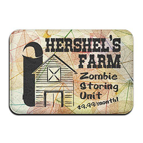 Hershels Farm Zombie IndoorOutdoor Doormat 2416 Inch * Check out this great product.Note:It is affiliate link to Amazon.