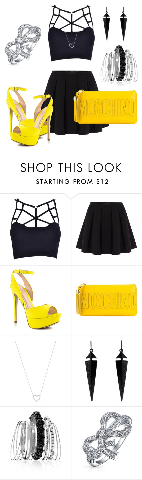 """""""Irresponsible sexy """" by innamilen ❤ liked on Polyvore featuring Polo Ralph Lauren, ALDO, Moschino, Tiffany & Co., Oasis, Avenue and Bling Jewelry"""