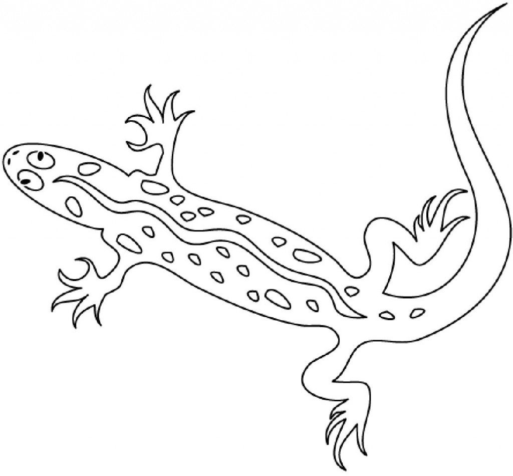 Free Printable Lizard Coloring Pages For Kids Reptiles Preschool