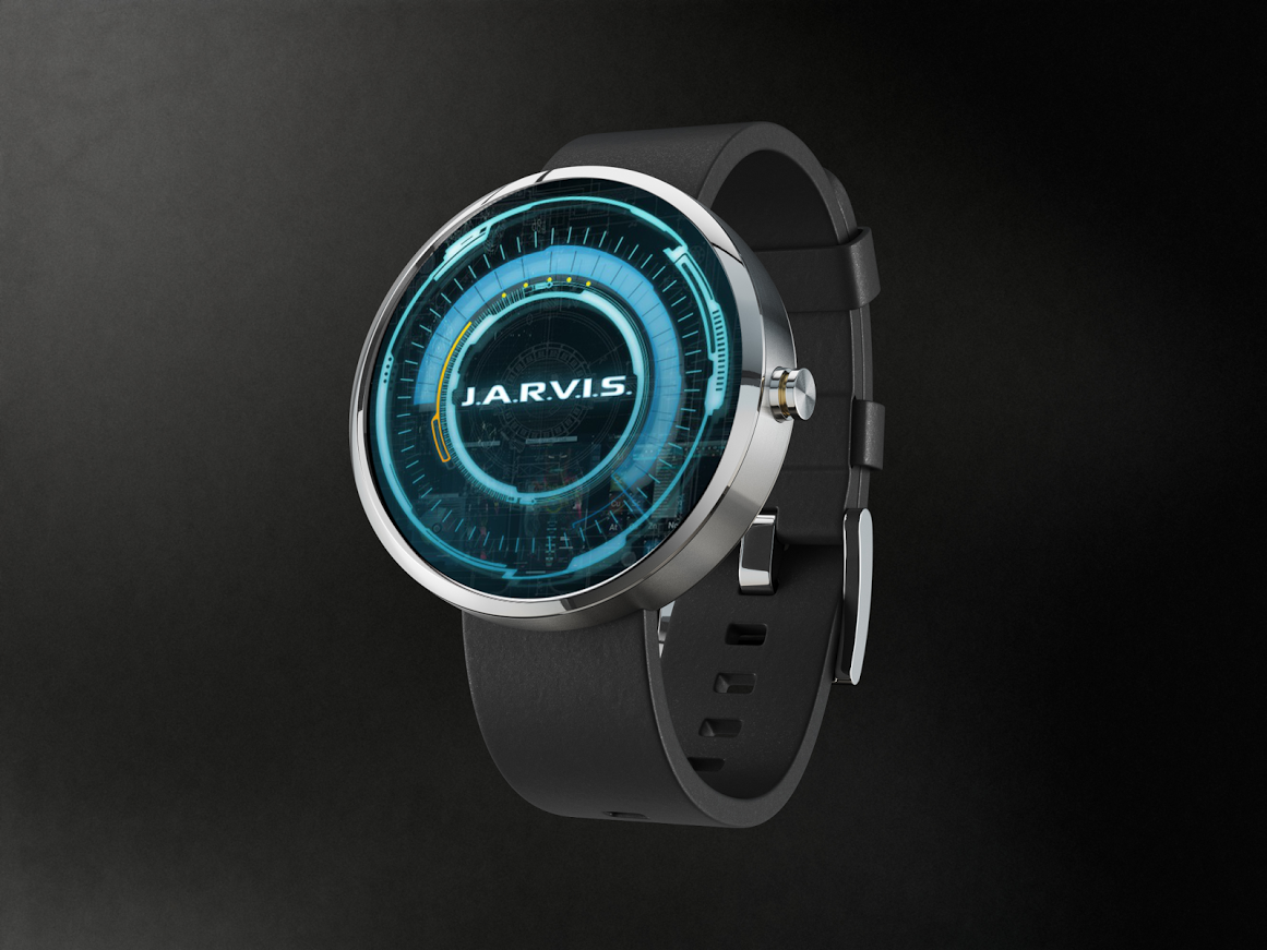 Designer android wear watchface - Jarvis Awesome Moto 360 Watch Face We D Love To See Smartwatch Android Wearui Ux Designsmart