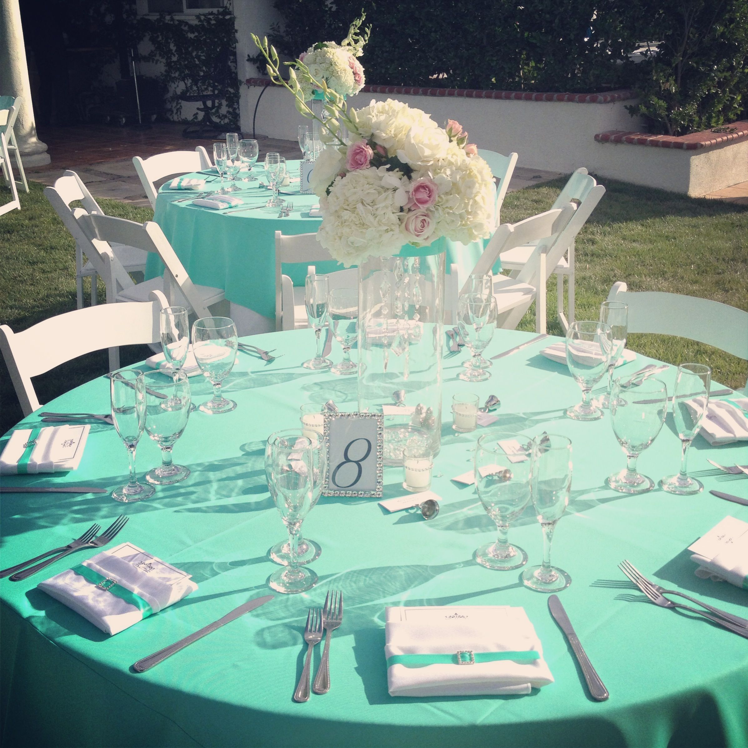 Tiffany Blue Wedding Decoration Ideas: Tiffany Blue Wedding Table Settings & Tiffany Blue Table