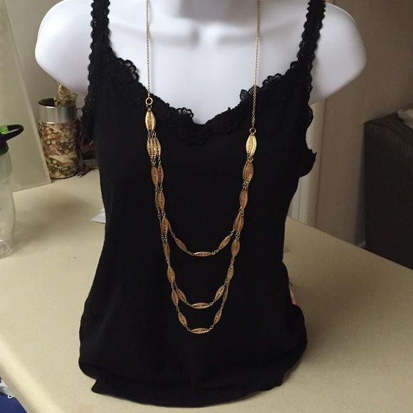 Rachel long layer necklace Free gift with purchases~✨✨ Jewelry Necklaces