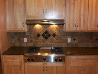 Mooseheart Tile Granite Marble Backsplash Kitchen Backsplash Modern Cabin Decor