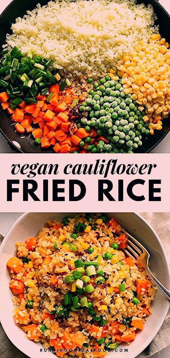 Photo of Gesunder Blumenkohl Fried Rice des strengen Vegetariers – Diät Blog – Fİko BLog