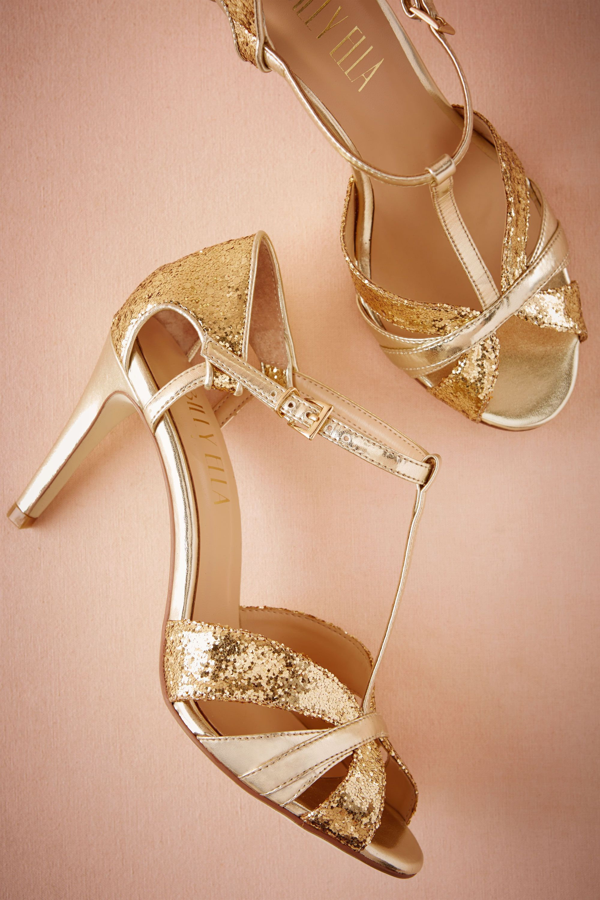 a2bdb996c BHLDN Lucia T-Straps in Bride Bridal Shoes   Accessories Bridal Shoes