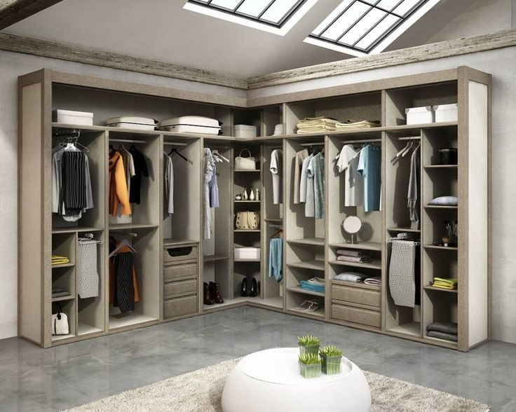 Fotos de vestidores y closets de estilo moderno de todomadera estepona