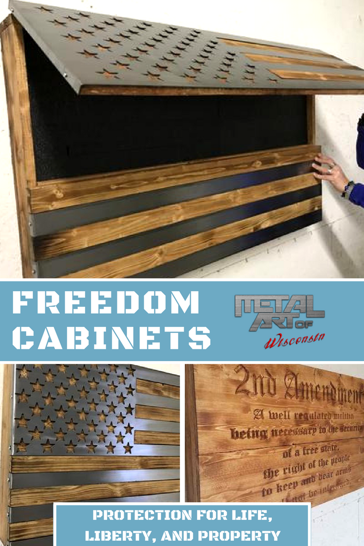 Get Your Freedom Cabinet Today The Perfect Place To Store All Of Your Belongings Including Guns Money And Fl Carpentry Diy Woodworking Woodworking Projects