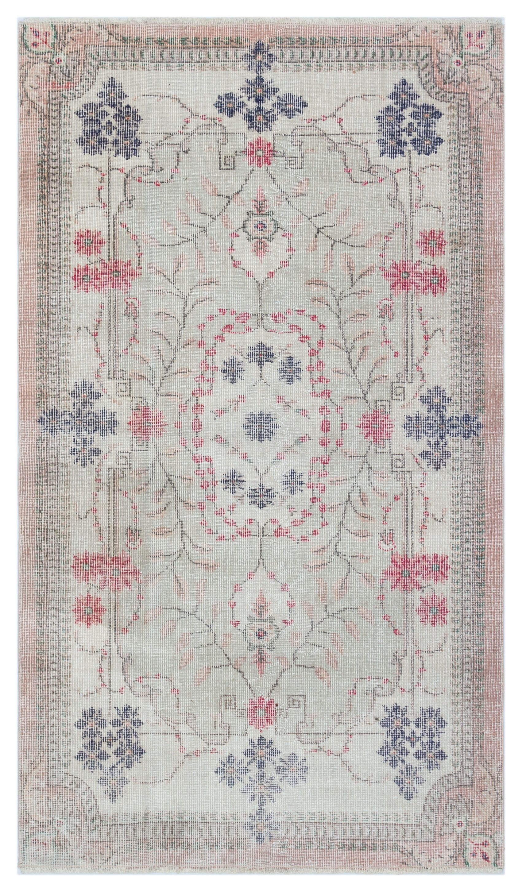 Orientteppich Türkis 3 80 X 6 66 Ft Turkish Oushak Rug Area Rug Faded Rugs Wool