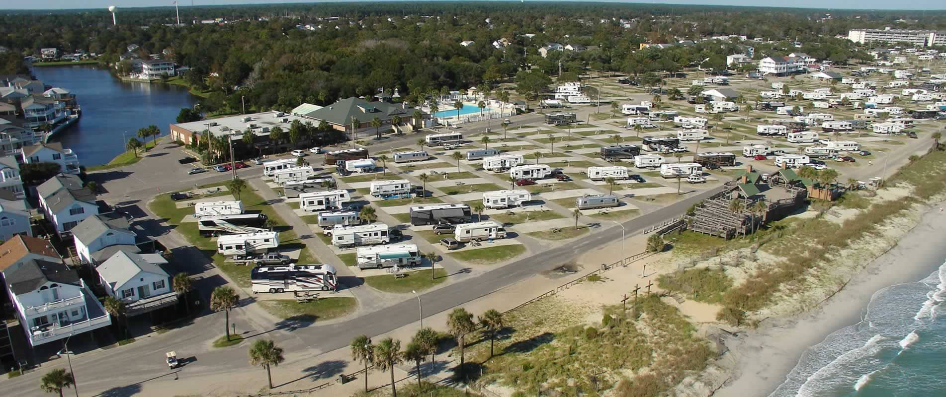 Ocean Lakes Family Campground In Myrtis Beach Reasonable Rates Destin Resorts Myrtle Beach Camping Vacations