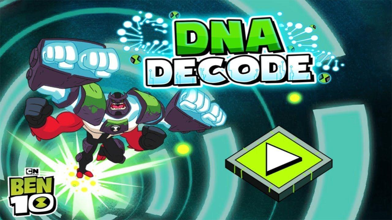 Ben 10 Omnitrix Glitch Dna Decode Cartoon Network Ben 10 Glitch