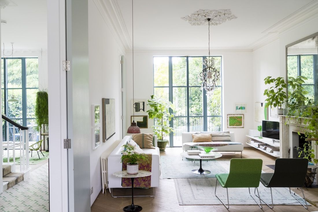 A luminous Victorian home filled with plants in London | Victorian ...