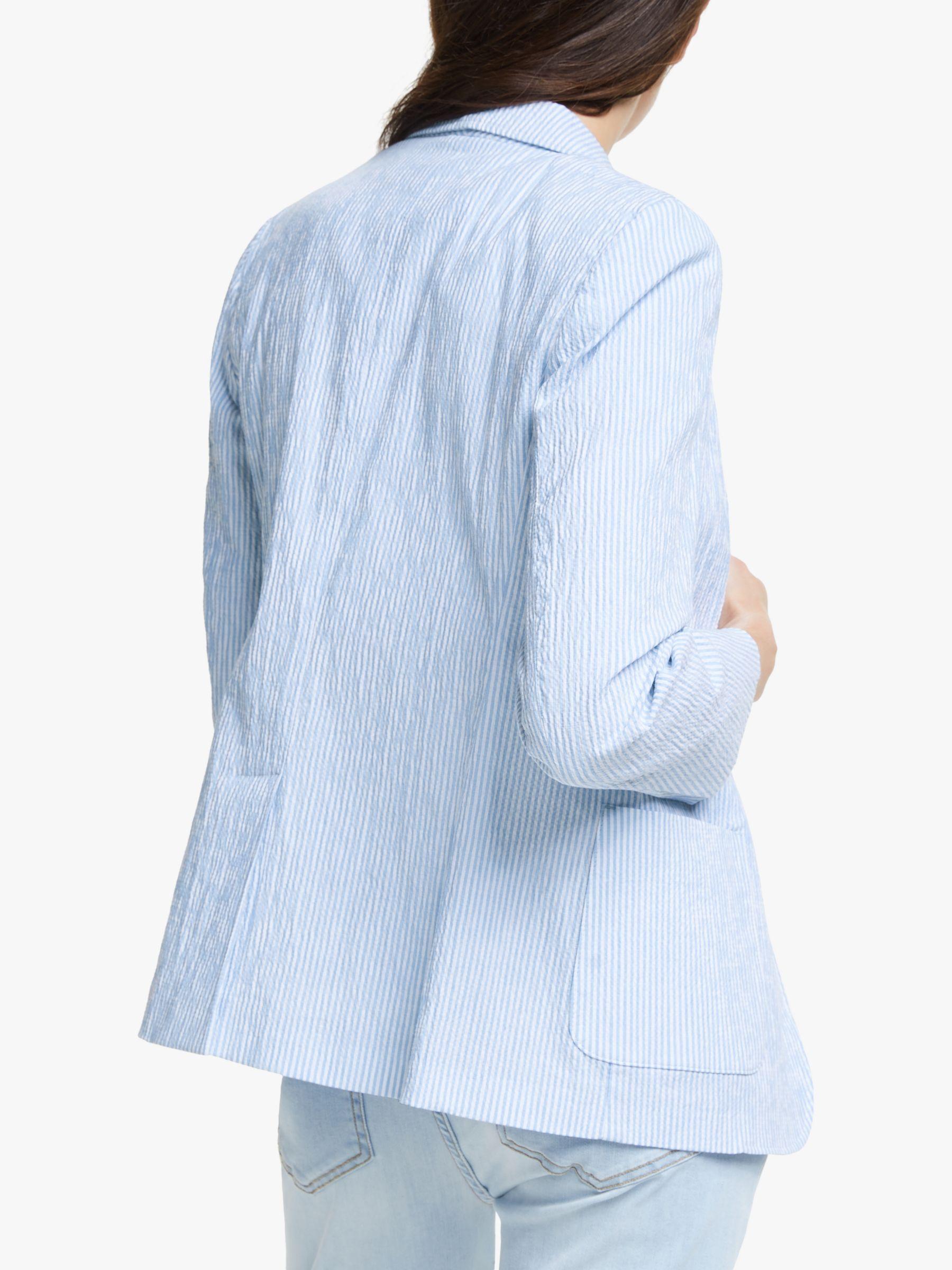 Blue Max Mara Weekend Coat Mark Cross Bag Manolo Blahnikhq Mules Via Halliedaily Blue Coat Outfit Light Blue Coat Outfit Blue Outerwear