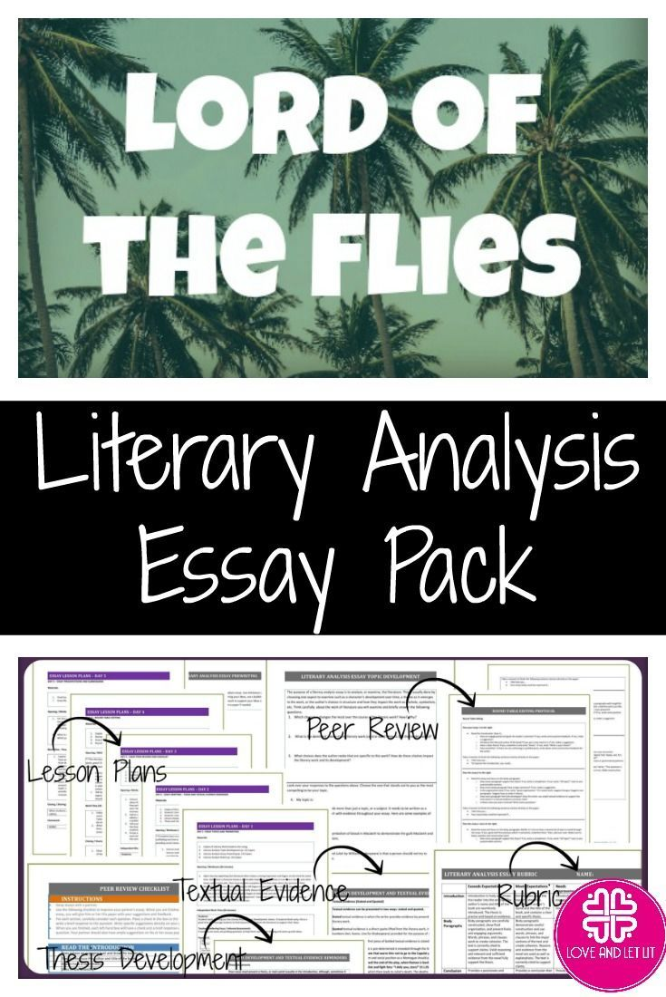 lord of the flies literary analysis